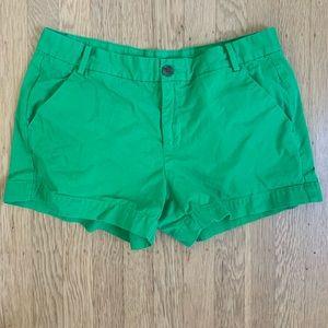 Gap Sunkissed Khaki Shorts Green